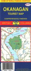 Buy map Okanagan, Canada by GM Johnson from British Columbia Maps Store