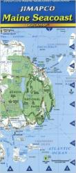 Buy map Maine, Seacoast, Quickmap by Jimapco from Maine Maps Store