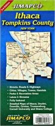 Buy map Ithaca and Tompkins County, New York by Jimapco