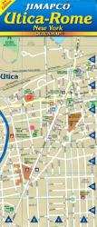 Buy map Utica and Rome, New York, Quickmap by Jimapco from New York Maps Store