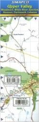 Buy map Upper Valley, Vermont and New Hampshire by Jimapco from United States Maps Store