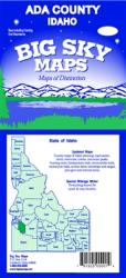 Buy map Ada County, Idaho by Big Sky Maps from Idaho Maps Store