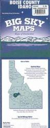 Buy map Boise County, Idaho by Big Sky Maps from Idaho Maps Store
