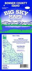 Buy map Bonner County, Idaho by Big Sky Maps from Idaho Maps Store