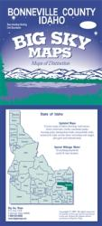 Buy map Bonneville County, Idaho by Big Sky Maps