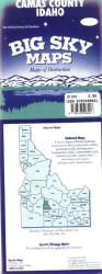 Buy map Camas County, Idaho by Big Sky Maps