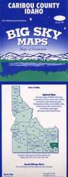Buy map Caribou County, Idaho by Big Sky Maps