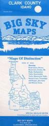 Buy map Clark County, Idaho by Big Sky Maps from Idaho Maps Store