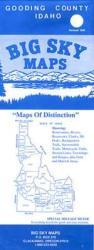 Buy map Gooding County, Idaho by Big Sky Maps