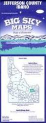 Buy map Jefferson County, Idaho by Big Sky Maps from Idaho Maps Store