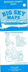 Buy map Madison County, Idaho by Big Sky Maps