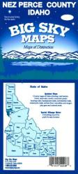Buy map Nez Perce County, Idaho by Big Sky Maps from Idaho Maps Store