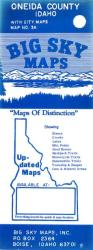 Buy map Oneida County, Idaho by Big Sky Maps from Idaho Maps Store