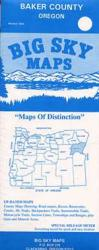 Buy map Baker County, Oregon by Big Sky Maps from Oregon Maps Store