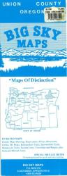 Buy map Union County, Oregon by Big Sky Maps from Oregon Maps Store
