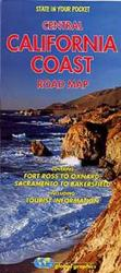 Buy map California Coast, Central by Global Graphics from California Maps Store