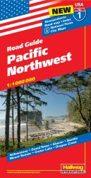 Buy map USA 1: Pacific Northwest by Hallwag from United States Maps Store
