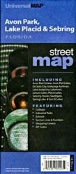 Buy map Avon Park, Lake Placid and Sebring, Florida by Kappa Map Group
