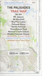 Buy map Palisades, California by Tom Harrison Maps from California Maps Store