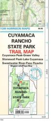 Buy map Cuyamaca Rancho State Park, California by Tom Harrison Maps from California Maps Store