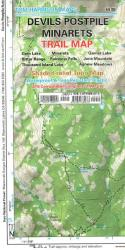 Buy map Devils Postpile, California by Tom Harrison Maps from California Maps Store