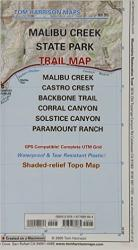 Buy map Malibu Creek State Park, California by Tom Harrison Maps from California Maps Store