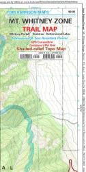 Buy map Mount Whitney Zone, California by Tom Harrison Maps from California Maps Store