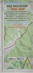 Buy map Pine Mountain, California Trail Map by Tom Harrison Maps