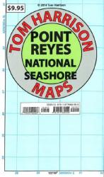 Buy map Point Reyes National Seashore, California by Tom Harrison Maps
