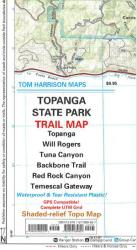 Buy map Topanga State Park, California by Tom Harrison Maps from California Maps Store
