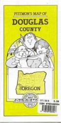 Buy map Douglas County, Oregon by Pittmon Map Company from Oregon Maps Store