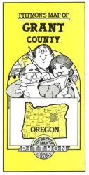 Buy map Grant County, Oregon by Pittmon Map Company from Oregon Maps Store