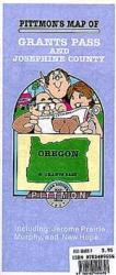 Buy map Grants Pass, Oregon by Pittmon Map Company from Oregon Maps Store