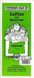 Buy map La Pine, Oregon Vicinity by Pittmon Map Company from Oregon Maps Store