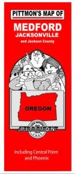 Buy map Medford and Jackson County, Oregon by Pittmon Map Company from Oregon Maps Store