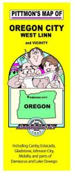 Buy map Oregon City, Oregon Vicinity by Pittmon Map Company from Oregon Maps Store