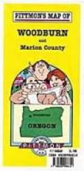 Buy map Woodburn and Marion County, Oregon by Pittmon Map Company from Oregon Maps Store