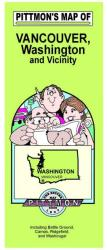 Buy map Vancouver and Clark County, Washington by Pittmon Map Company from Washington Maps Store