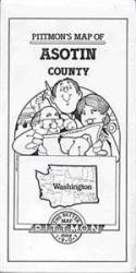 Buy map Asotin County, Washington by Pittmon Map Company from Washington Maps Store