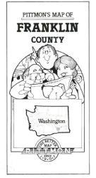 Buy map Franklin County, Washington by Pittmon Map Company from Washington Maps Store