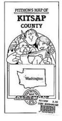 Buy map Kitsap County, Washington by Pittmon Map Company