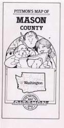 Buy map Mason County, Washington by Pittmon Map Company from Washington Maps Store