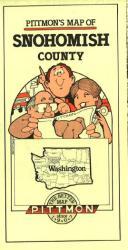 Buy map Snohomish County, Washington by Pittmon Map Company from Washington Maps Store