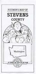 Buy map Stevens County, Washington by Pittmon Map Company from Washington Maps Store