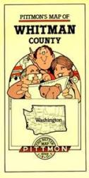 Buy map Whitman County, Washington by Pittmon Map Company from Washington Maps Store
