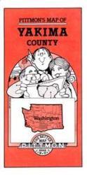 Buy map Yakima County, Washington by Pittmon Map Company in Washington Map Store