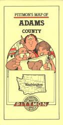 Buy map Adams County, Washington by Pittmon Map Company from Washington Maps Store