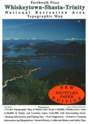 Buy map Whiskeytown, Shasta and Trinity, California by Earthwalk Press from California Maps Store