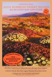 Buy map Anza-Borrego Desert Region, California, waterproof by Earthwalk Press