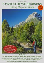 Buy map Sawtooth Wilderness, Idaho, waterproof by Earthwalk Press from Idaho Maps Store